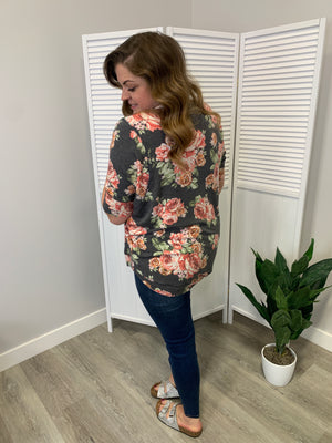 Melissa Short Sleeve Sweatshirt | Fall Fantasy