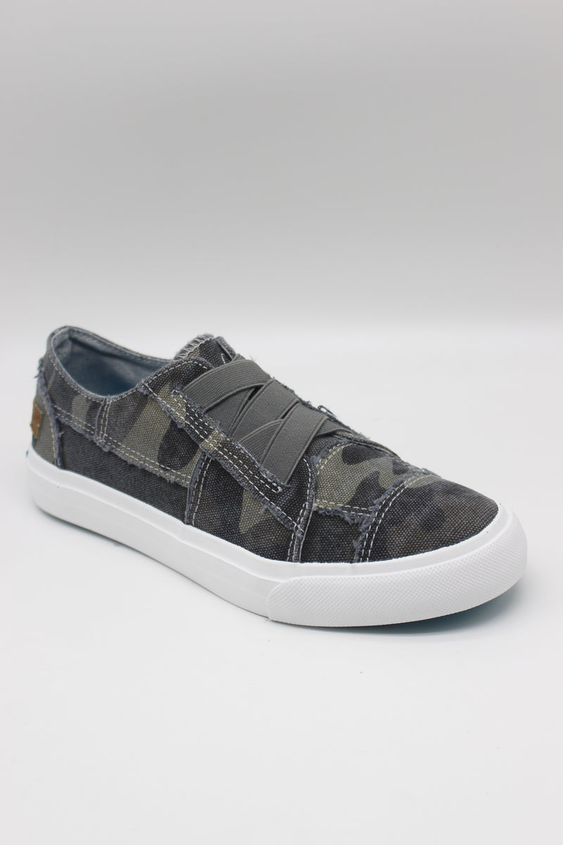 Blowfish MARLEY | Sneaker | Grey Camoflauge Canvas