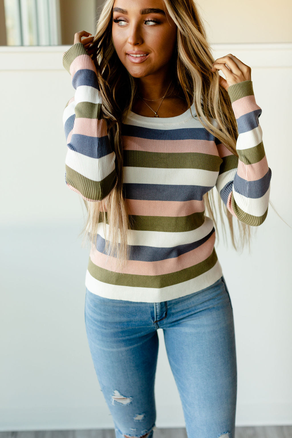 Ampersand - Ribbed Molly Sweater