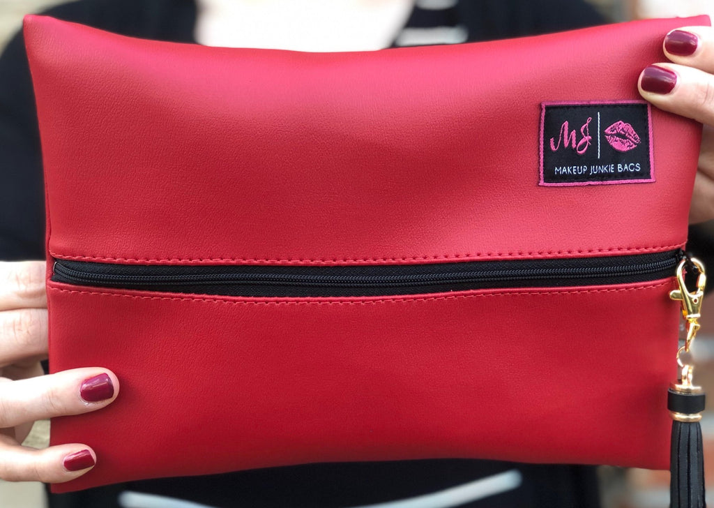 Makeup Junkie Bag - Scarlett