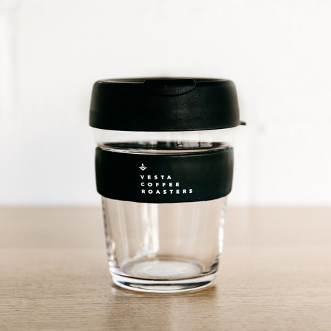 12oz Keep Cup - Vesta Text Logo