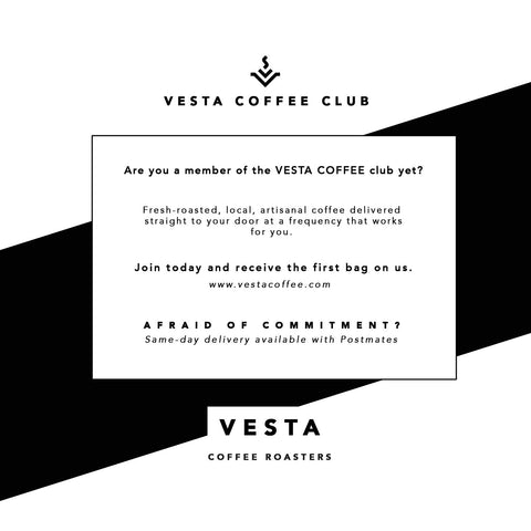 Vesta Coffee Club Subscription