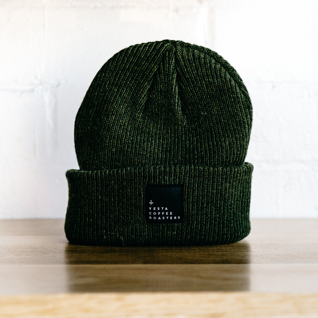 Wool Beanie w/ label-tag