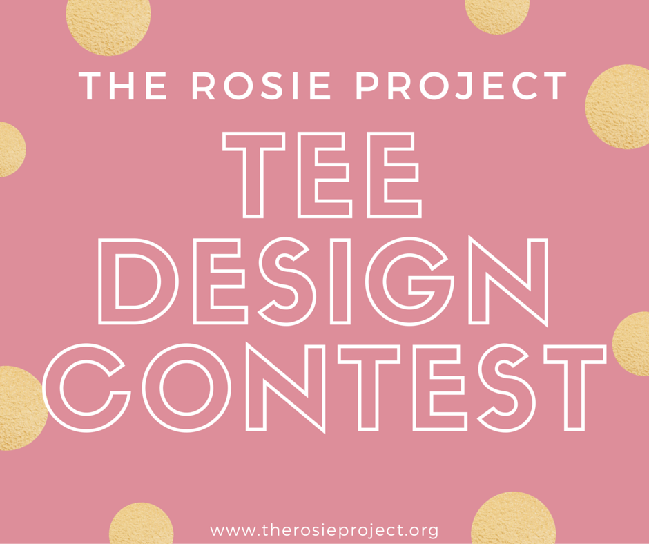 The Rosie Project Tee Design Contest