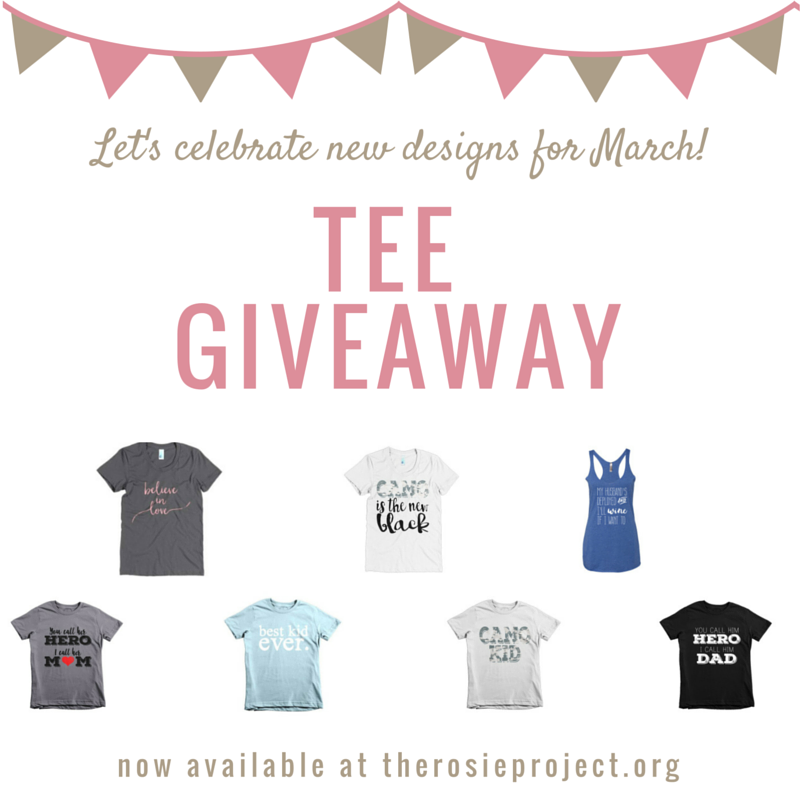 New Tees & A Giveaway