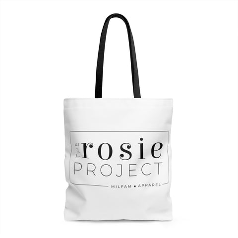 The Rosie Project Logo Tote
