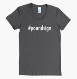 Hashtag Poundsign Women's Tee - The Rosie Project - 3