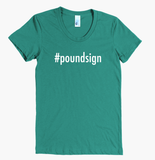 Hashtag Poundsign Women's Tee - The Rosie Project - 4