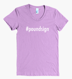Hashtag Poundsign Women's Tee - The Rosie Project - 5