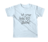 Let Your Light Shine Kids Tee - The Rosie Project - 8