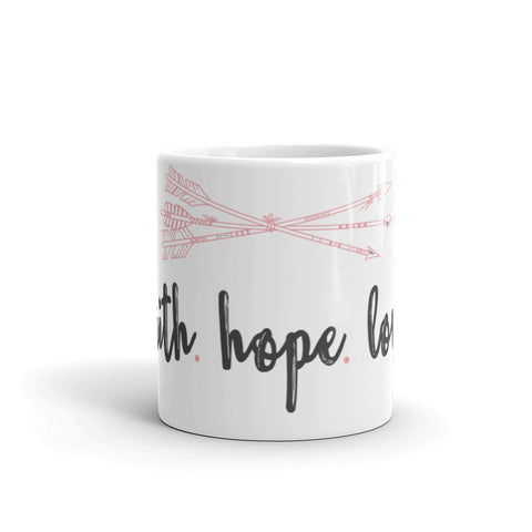 Faith Hope Love Mug - The Rosie Project - 1