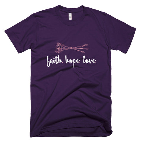 Faith Hope Love Unisex Tee - The Rosie Project