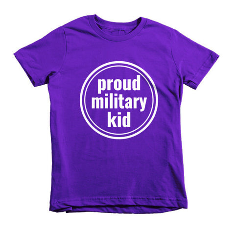 Proud Military Kids Tee - The Rosie Project - 1