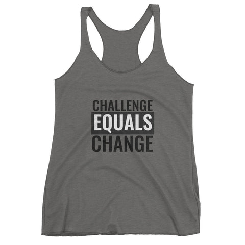 Challenge Equals Change Tank - The Rosie Project - 1