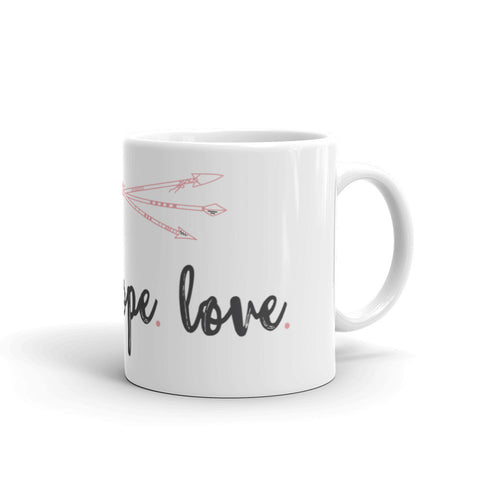 Faith Hope Love Mug - The Rosie Project - 3