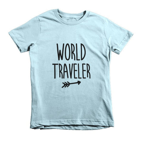 World Traveler Kids Tee - The Rosie Project - 1