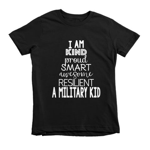 I am a Military Kid Tee - The Rosie Project - 1