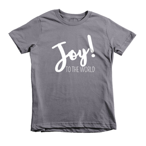 Joy to the World Kids Tee - The Rosie Project - 2