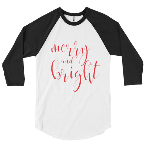 Merry and Bright 3/4 Women's Tee - The Rosie Project - 1
