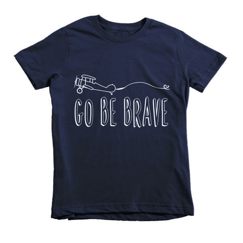 Go Be Brave Kids Tee - The Rosie Project - 1