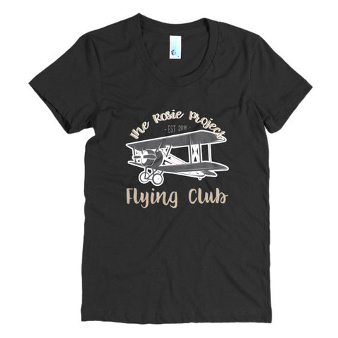 The Rosie Project Flying Club Women's Tee - The Rosie Project - 1