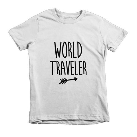World Traveler Kids Tee - The Rosie Project - 2