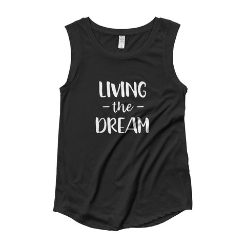 Living the Dream Women's Cap Sleeve