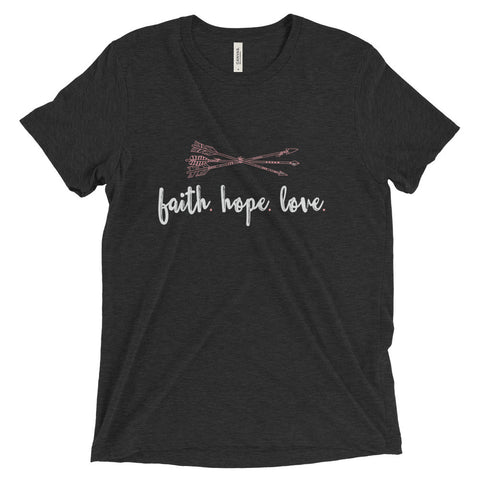 Faith Hope Love Unisex Fit - The Rosie Project - 1