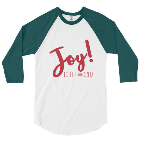 Joy to the World 3/4 Women's Tee - The Rosie Project - 1