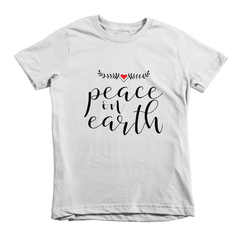 Peace on Earth Kids Tee - The Rosie Project - 1