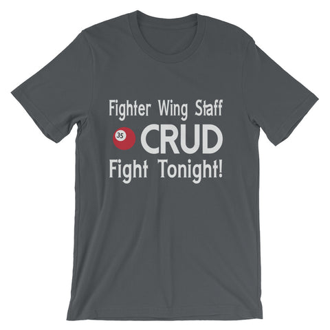 Fighter Wing Staff Crud Unisex Fit Tee