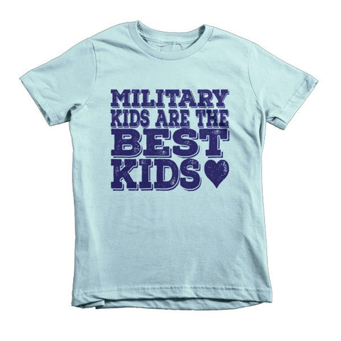 Military Kids are the Best Kids Tee - The Rosie Project - 1