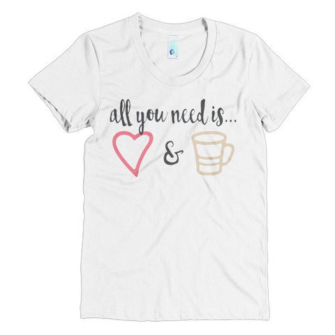 Love & Coffee Women's Tee - The Rosie Project - 1