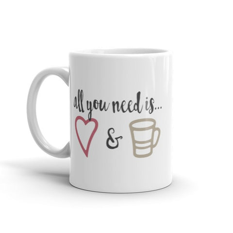 Love & Coffee Mug - The Rosie Project - 1