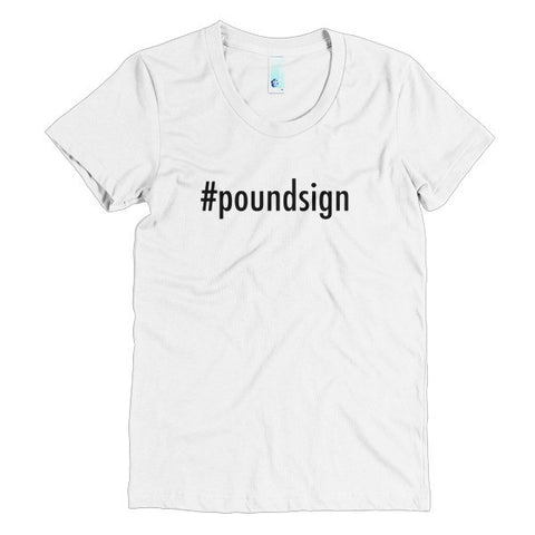 Hashtag Poundsign Women's Tee - The Rosie Project - 1