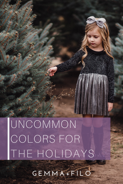 Uncommon Colors For The Holidays