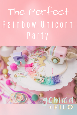 The Perfect Rainbow Unicorn Party