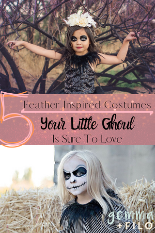 5 feather inspired costumes your little ghoul is sure to love