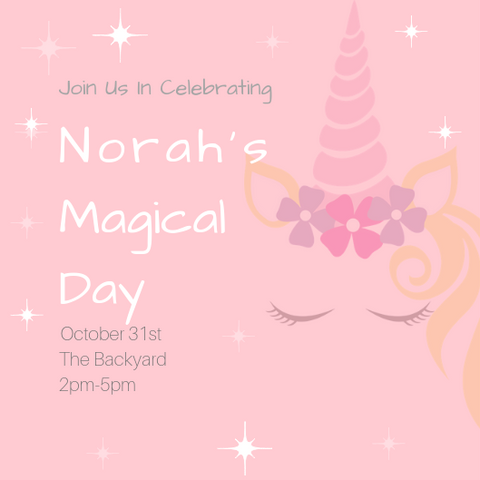Rainbow Unicorn Birthday Party Invites