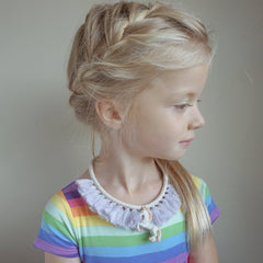 Galaxy Unicorn Tassel Necklace - gemma + filo