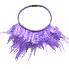 Twilight Sparkle Feather Necklace - gemma + filo