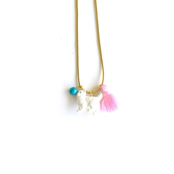 Kitten Charm Necklace