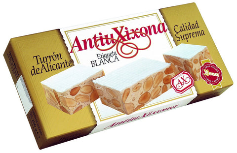 AntiuXixona Hard Nougat with Almonds