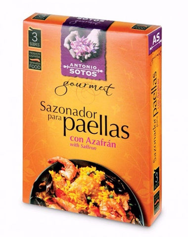 Antonio Sotos Paella Seasoning Sachets