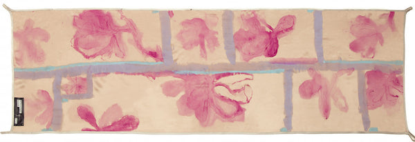 NO. 9 HAND PAINTED SILK SCARF BY ROSSLYND PIGGOTT