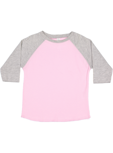 048a5c00a028e5 ... LAT Apparel Rabbit Skins Toddler Fine Jersey Crew Neck Raglan 3 4 Sleeve  Baseball Tee ...