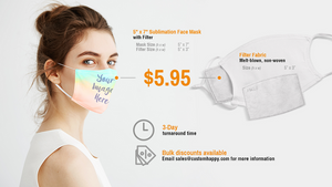 Face Mask Sublimation