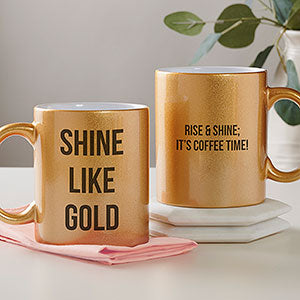 11 oz Sparkling Metallic Mugs (Multiple Colors) for Print on Demand