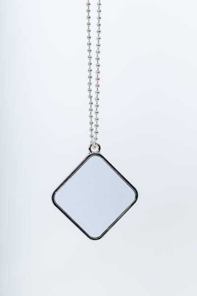 Diamond/Square Pendant. Gift Box included!