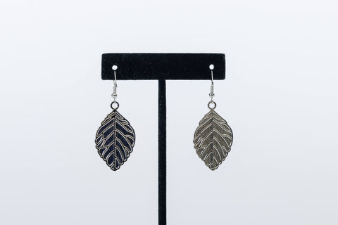 Print on Demand Leaf Shaped Earring Set. Gift Box included!